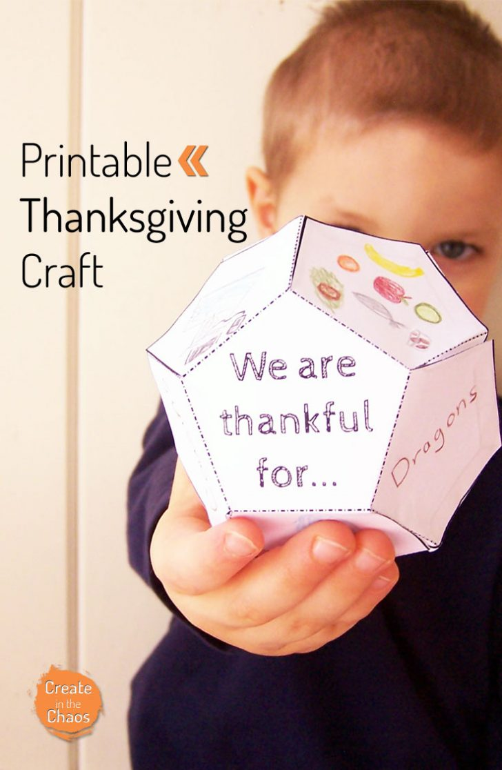 Free Printable Thanksgiving Crafts For Kids