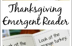 Thanksgiving Printable Emergent Reader To Teach Kids Colors – Free Thanksgiving Mini Book Printable