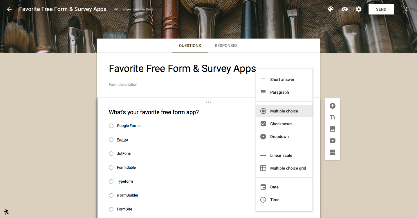 The 17 Best Online Form Builder Apps For Every Task - The Ultimate - Free Printable Form Maker