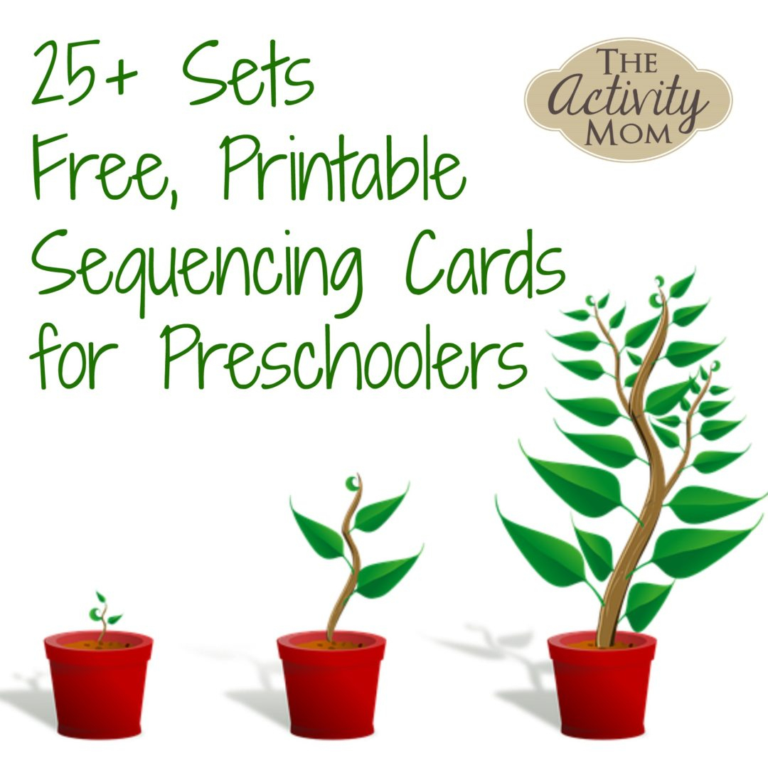The Activity Mom - Sequencing Cards Printable - The Activity Mom - Free Printable Sequencing Cards For Preschool