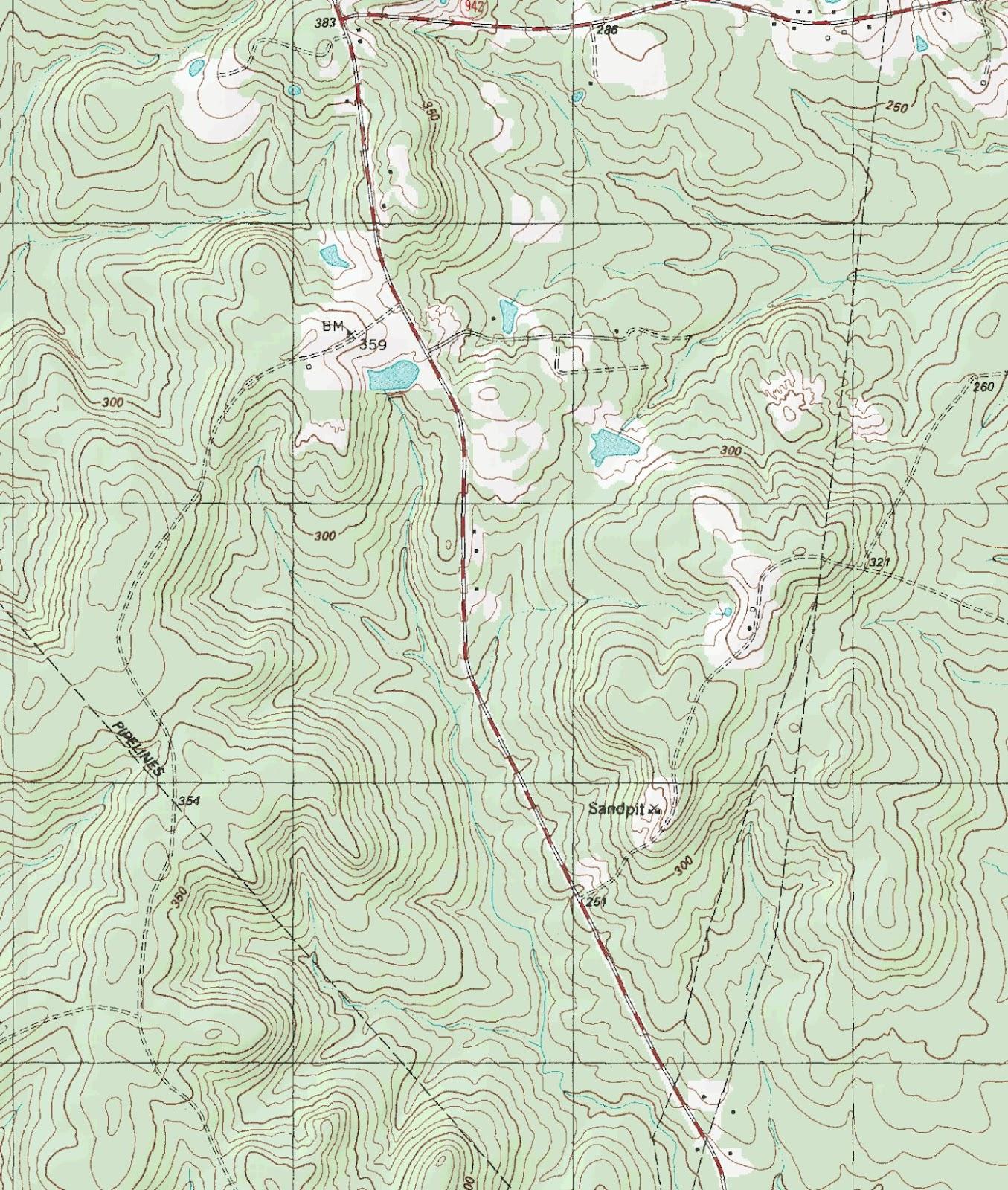 The Barefoot Peckerwood: Free Printable Topo Maps - Free Printable Topo Maps