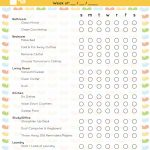 The Best Free Printable Cleaning Checklists - Sarah Titus - Free Printable House Cleaning Checklist
