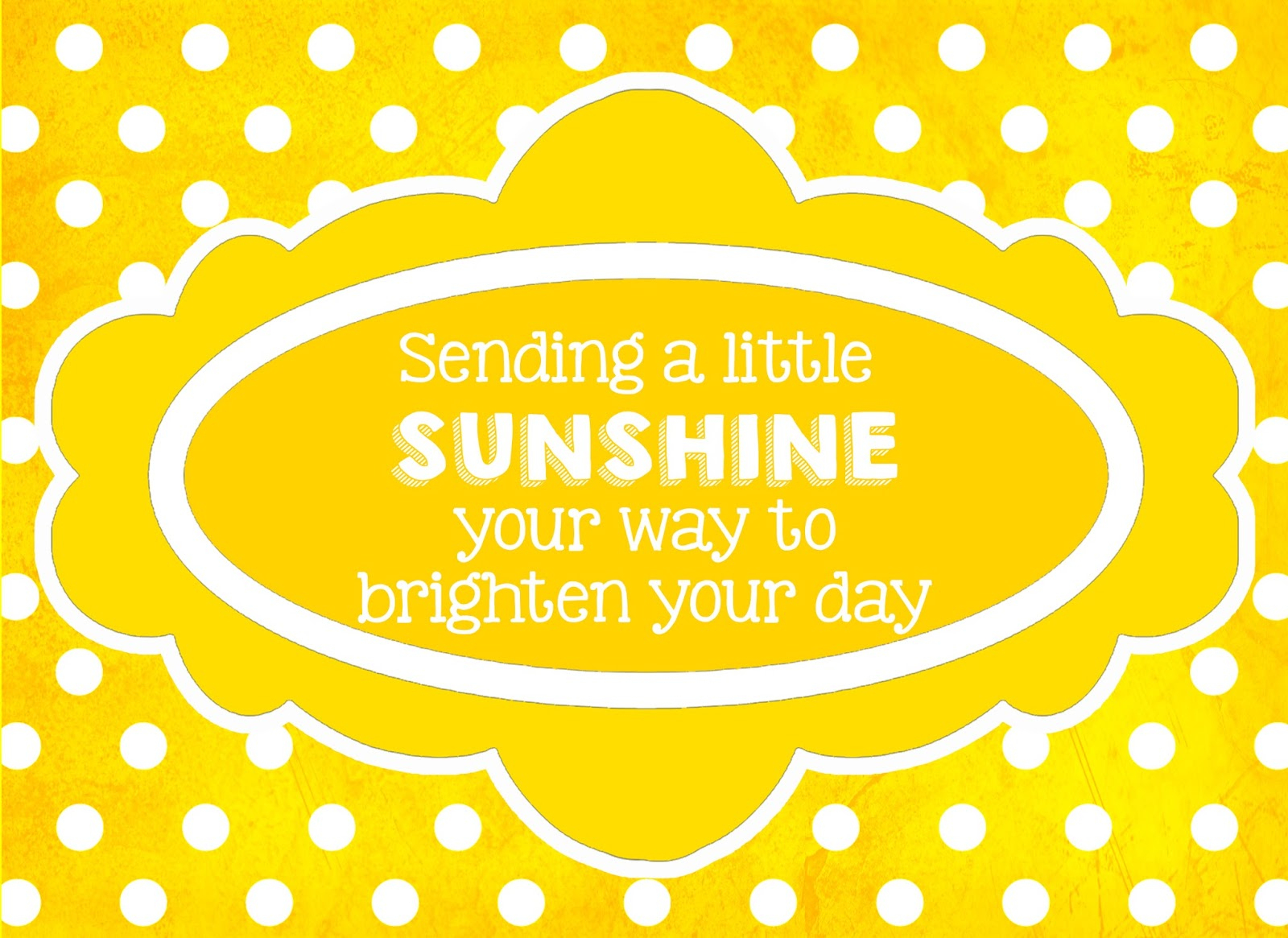 The Crafty Cab: Box Of Sunshine Ideas - Box Of Sunshine Free Printable