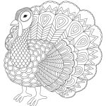 The Cutest Free Turkey Coloring Pages | Skip To My Lou   Free Printable Turkey Coloring Pages
