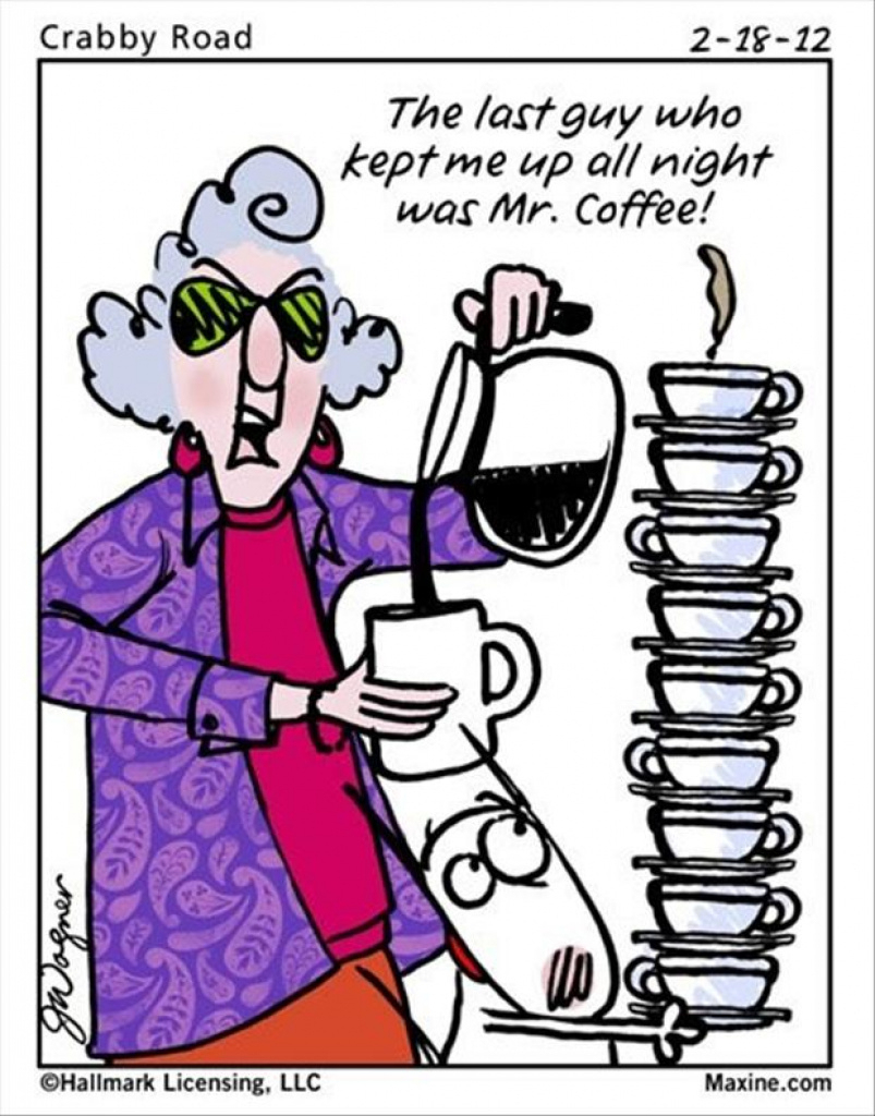 The Morning Funnys - Maxine Funny's In Free Printable Maxine - Free Printable Maxine Cartoons