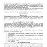 The Movie Murder Mystery Party | Murder Mystery Party | Pinterest   Free Printable Halloween Play Scripts
