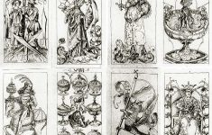 The Pack Of Cardsthe South German Engraver, C.1496 | Print – Free Printable Tarot Cards