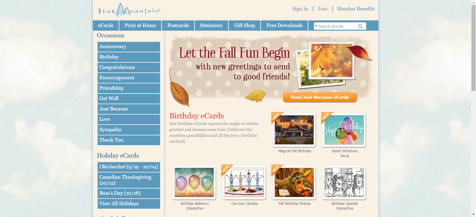 The Top 7 Sites For Free Ecards - Blue Mountain Cards Free Printable
