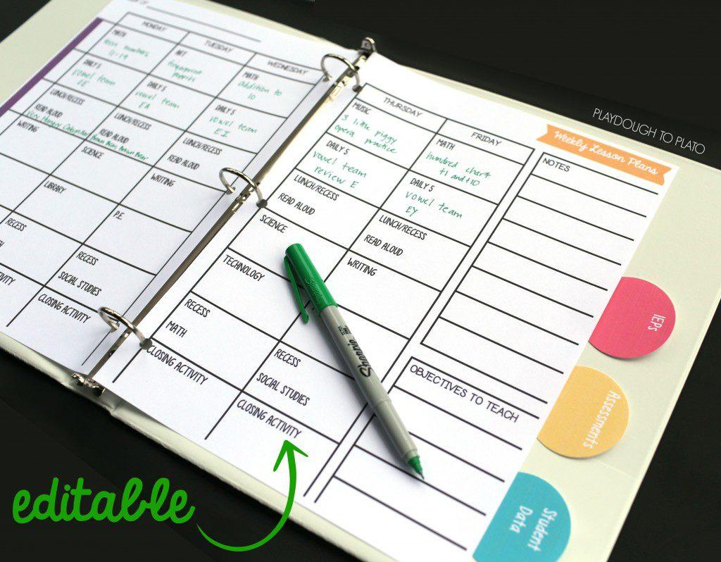 The Ultimate List Of Quality Free Printable Homeschool Planners - Homeschool Lesson Planner Free Printable