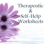 Therapy And Self Help Worksheets   Free Printable Counseling Worksheets