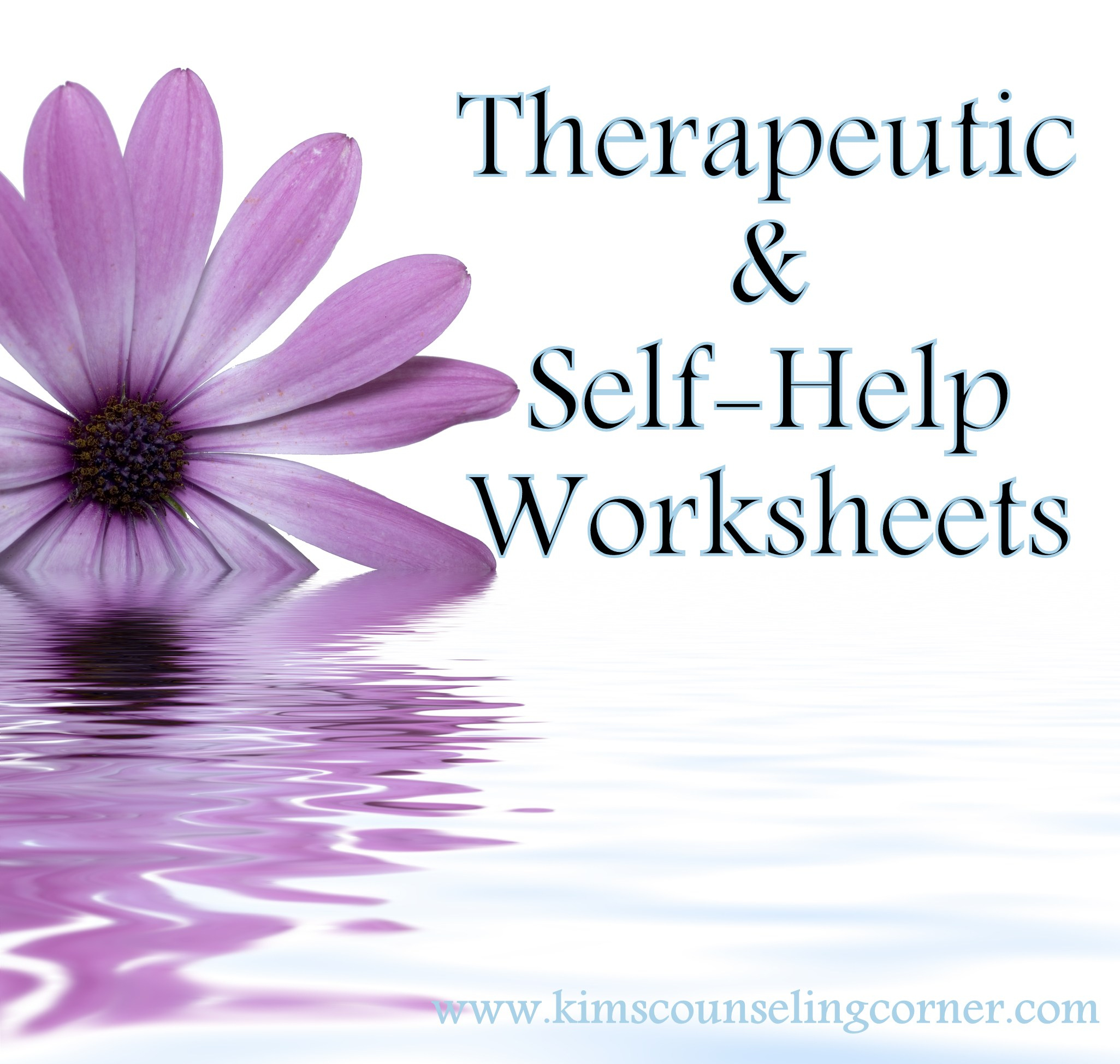 Therapy And Self Help Worksheets - Free Printable Counseling Worksheets