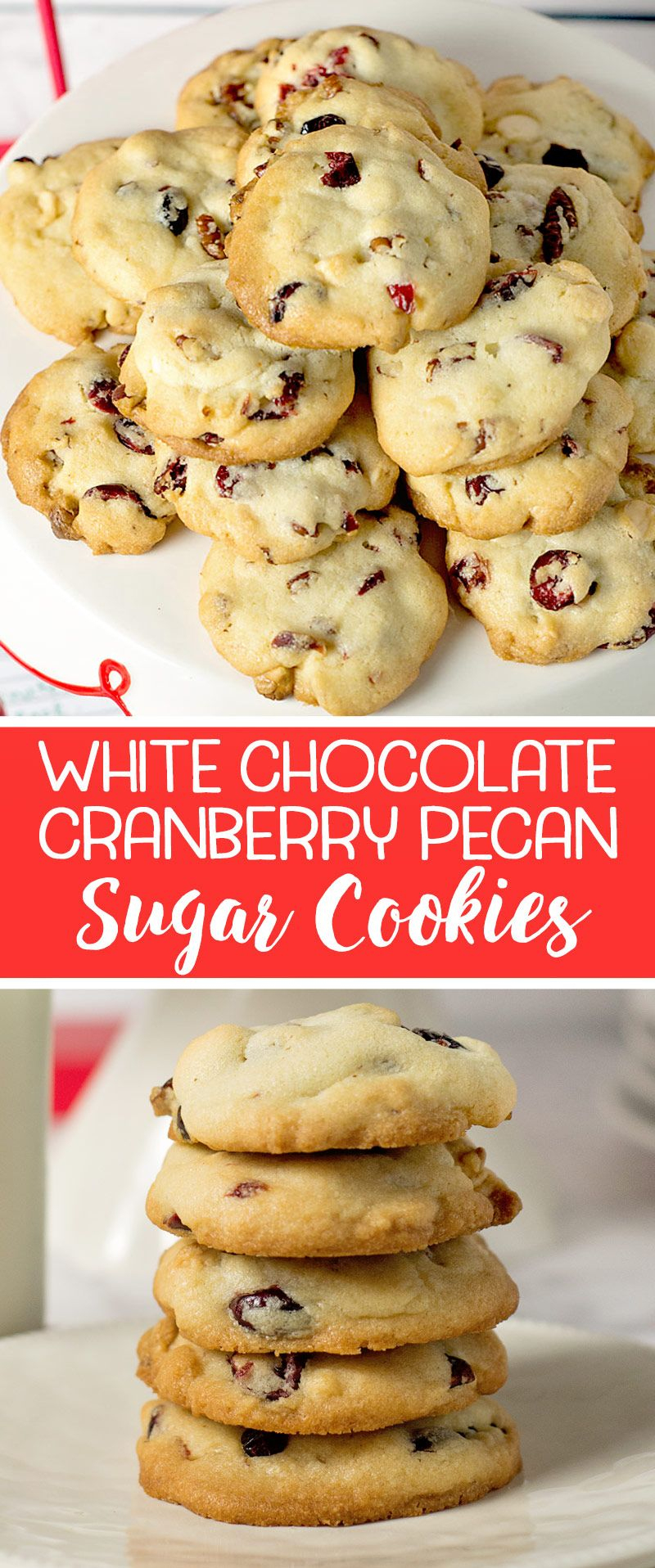 These White Chocolate Cranberry Pecan Cookies May Be The Easiest And - Free Printable Dessert Recipes