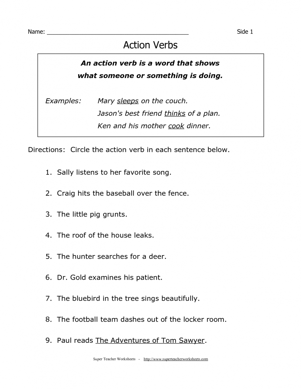 Third Grade Grammar Worksheets To Print | Worksheet News - Free Printable Third Grade Grammar Worksheets