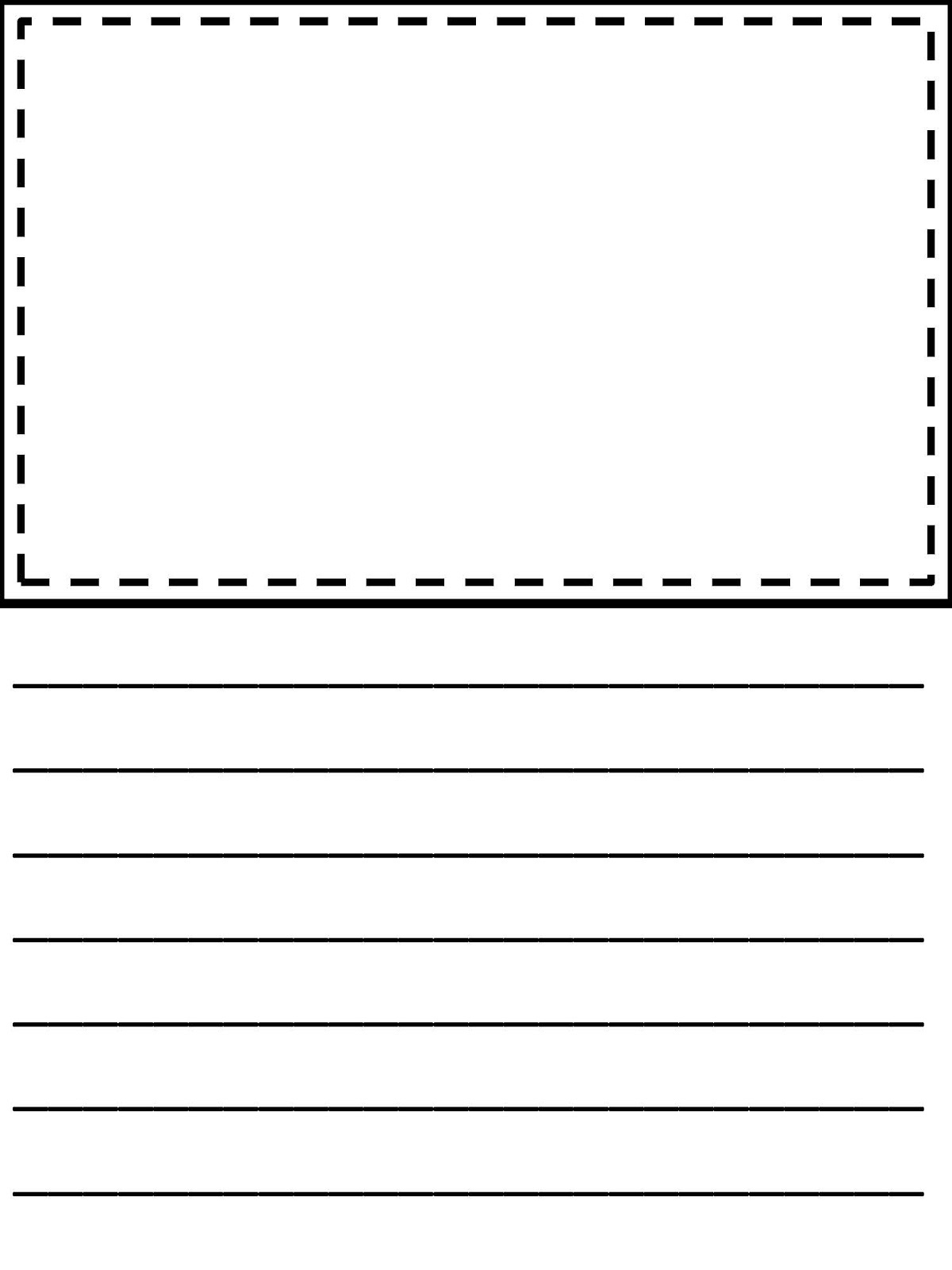 Third Grade Writing Paper | Homeshealth Handwriting Template - Free Printable Handwriting Paper