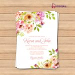 This Would Be Great With Different Colors Free Pdf Wedding   Wedding Invitation Cards Printable Free