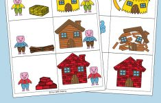 Three Little Pigs Sequencing Cards - Fun With Mama - Free Printable Sequencing Cards For Preschool