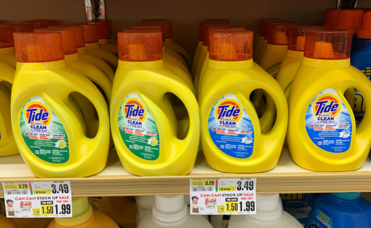 Tide Simply Laundry Detergent Or Pods Just $0.99 At Shoprite!living - Free Printable Tide Simply Coupons