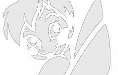Tinkerbell Pumpkin Stencils Free Printable | Tinker Bell Pumpkin - Pumpkin Templates Free Printable