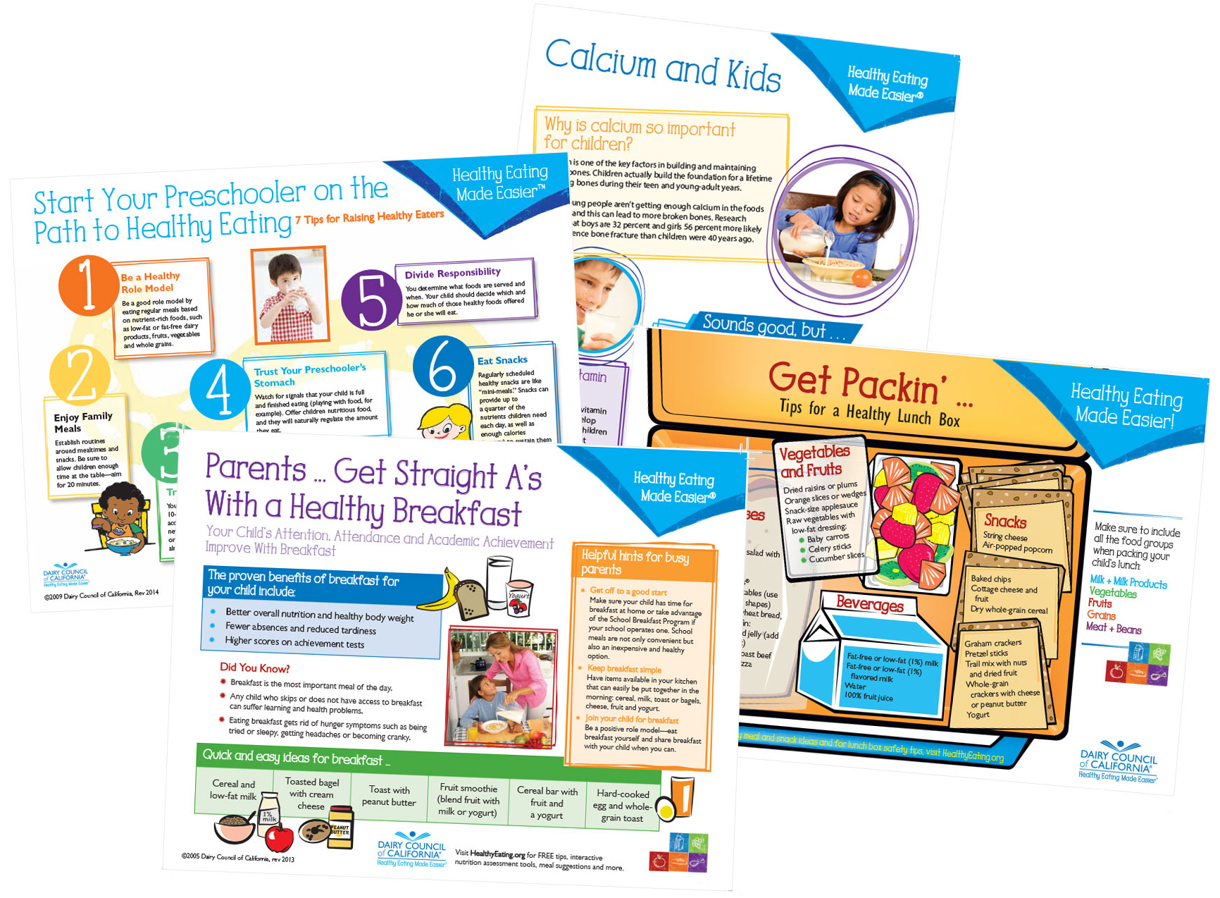 Tip Sheets For Nutrition Education - Free Printable Patient Education Handouts