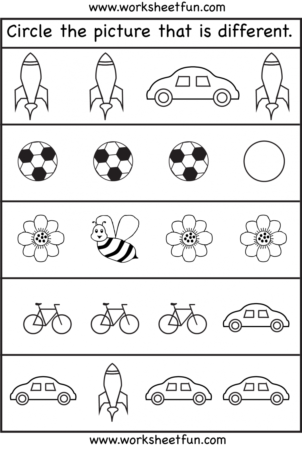 Toddler Activity Sheets – With Free Printable Activities For - Free Printable Activities For Kids
