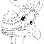 Top 15 Free Printable Easter Bunny Coloring Pages Online | Зентангл   Coloring Pages Free Printable Easter