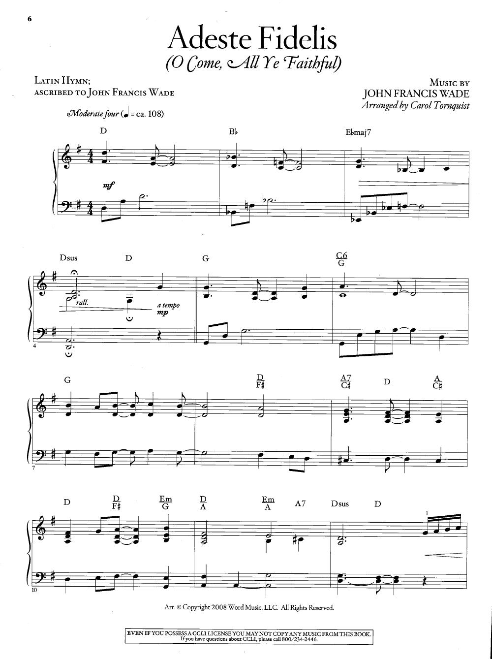 Top 25 Christmas Songs For Solo Piano ( Pian   J.w. Pepper Sheet Music - Christmas Songs Piano Sheet Music Free Printable