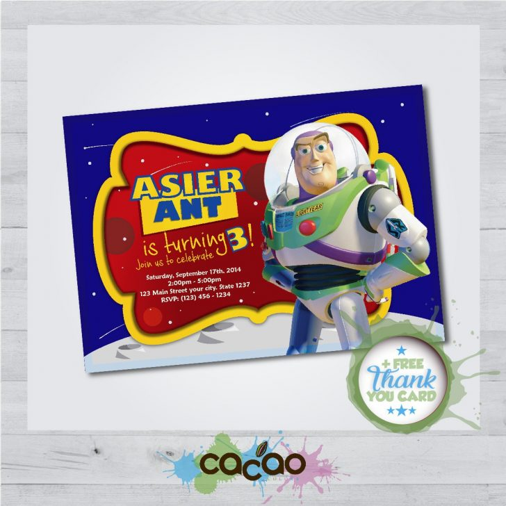 Toy Story Birthday Card Printable Free