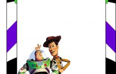 Toy Story: Free Printable Frames, Invitations Or Cards.   Dylans 2Nd - Toy Story Birthday Card Printable Free