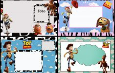 Toy Story Free Printable Invitations Or Photo Frames.   Oh My Fiesta - Toy Story Birthday Card Printable Free