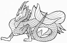 Free Printable Chinese Dragon Coloring Pages