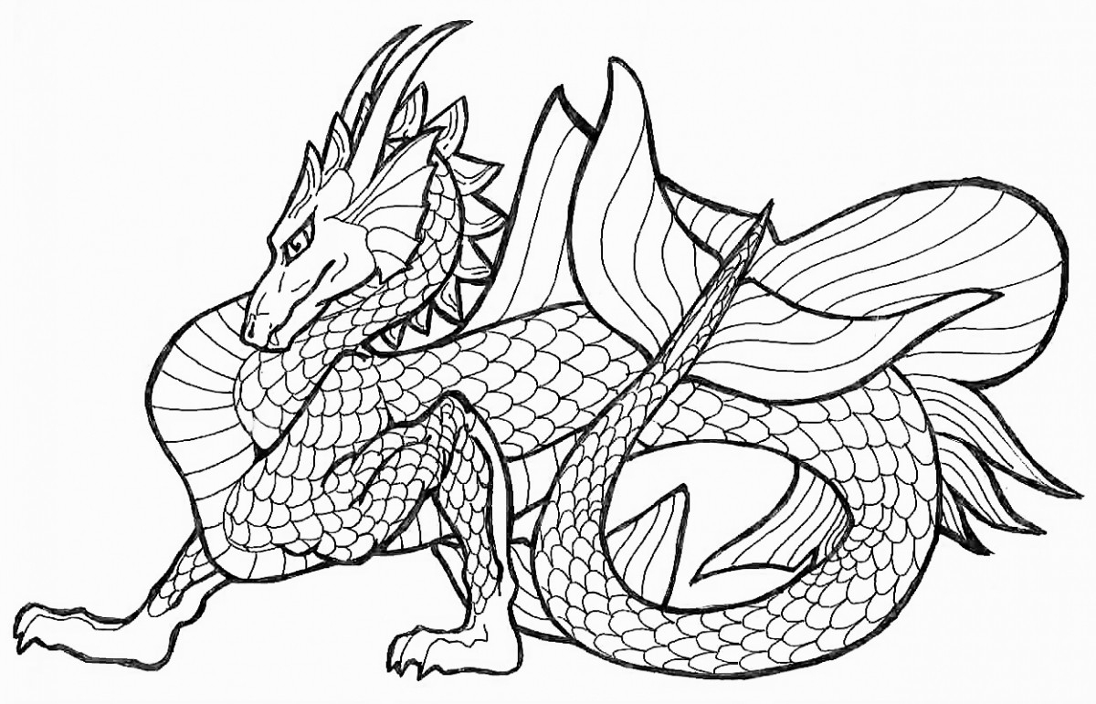 Tremendous Chinese Dragon Coloring Pages Page Free Printable 3517 - Free Printable Chinese Dragon Coloring Pages