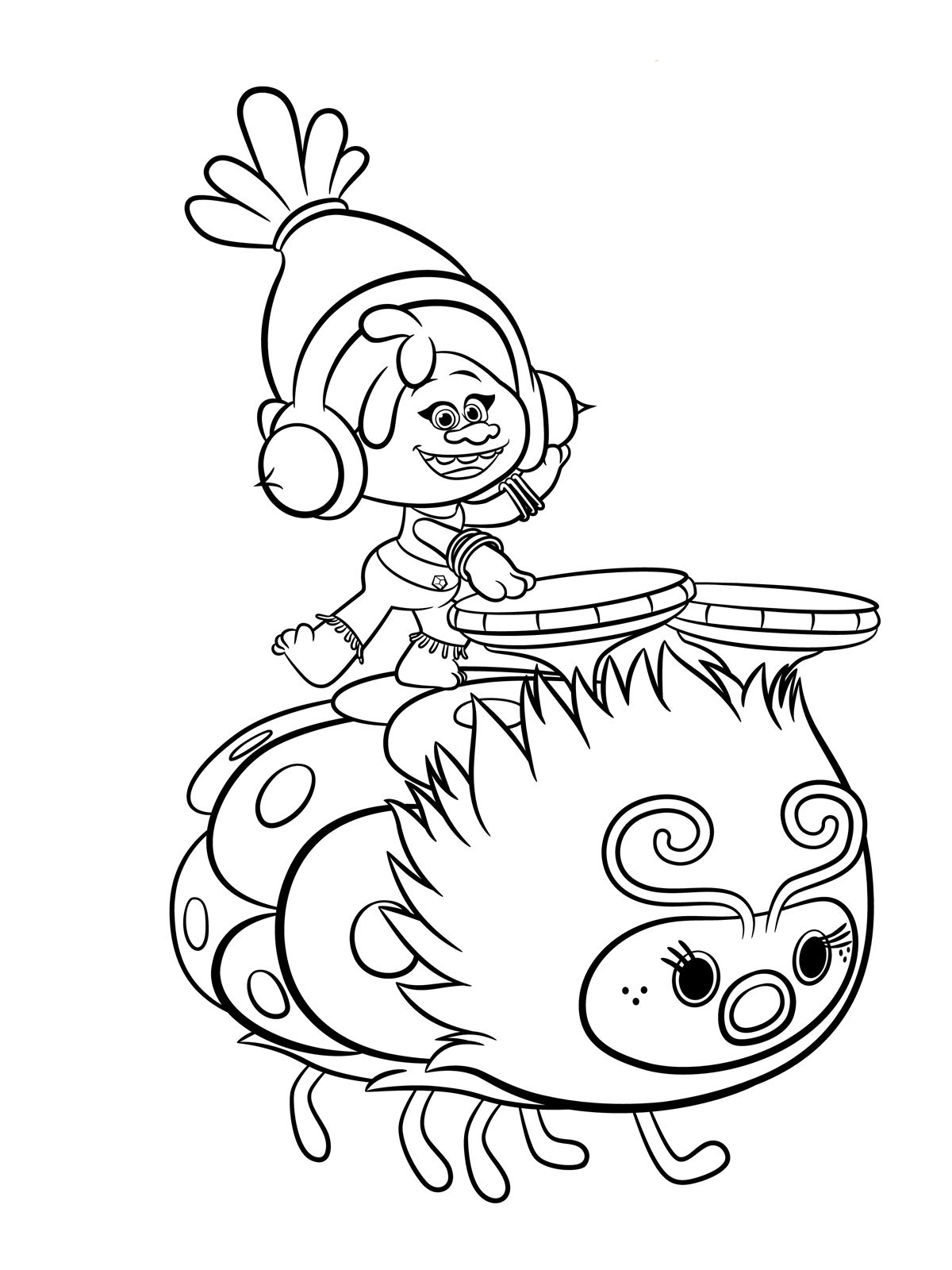 Trolls Coloring Pages To Download And Print For Free | Coloring The - Free Printable Troll Coloring Pages