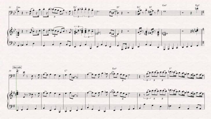 Free Printable Trumpet Sheet Music Pink Panther