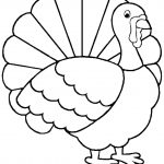 Turkey Coloring Page   Free Large Images | Adult And Children's   Free Printable Turkey Coloring Pages