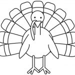 Turkey Coloring Page   Free Large Images | School Decoration Ideas   Free Printable Turkey Coloring Pages