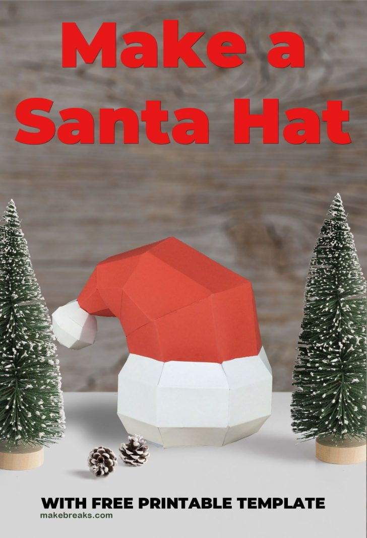 Free Printable Santa Hat Patterns