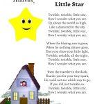 Twinkle Twinkle Little Star Nursery Rhyme Lyrics Free Printable   Free Printable Nursery Rhymes