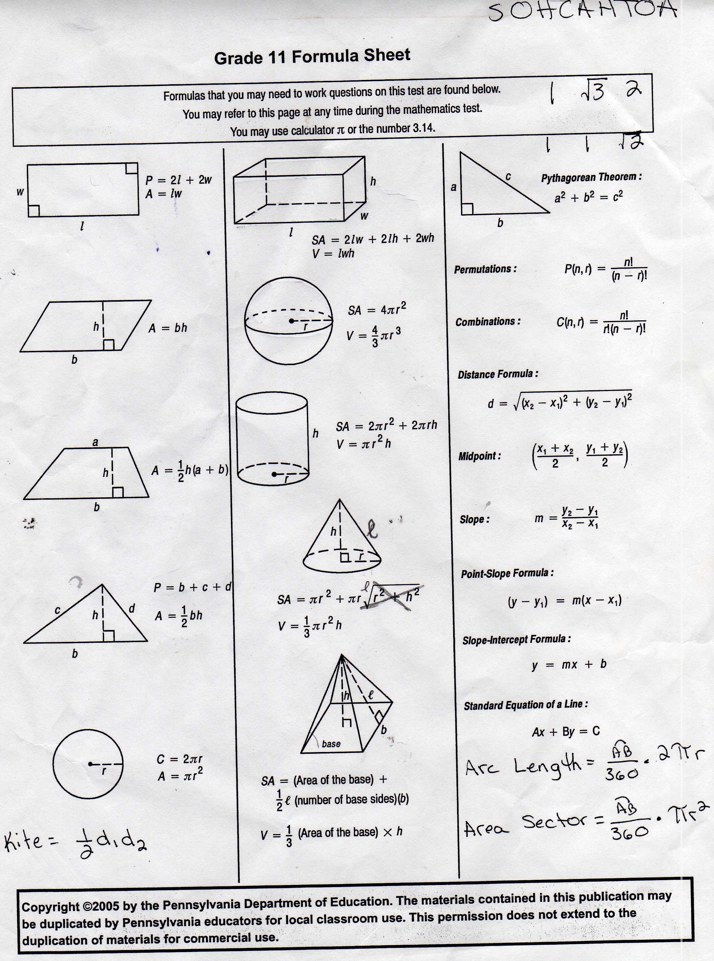 Ulshafer, K / Honors Geometry - Free Printable Geometry Worksheets For Middle School