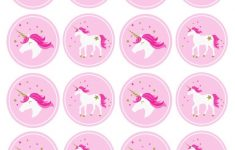 Unicorn Stickers & Cupcake Toppers | Party: Unicorn | Pinterest – Free Printable Unicorn Cupcake Toppers