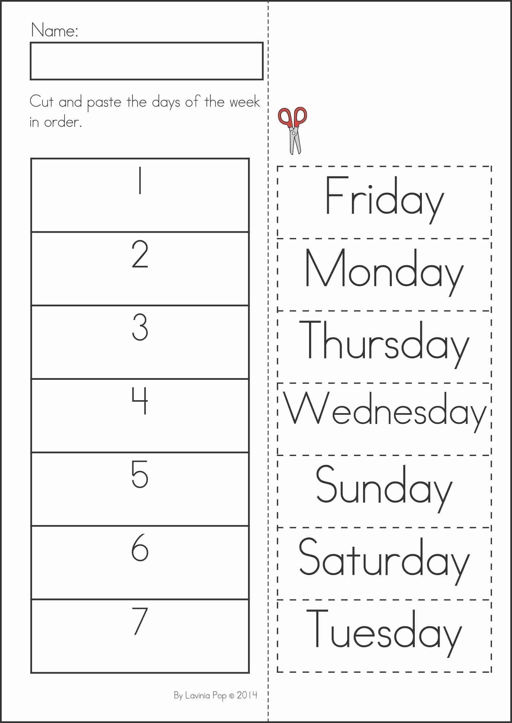Unique Kindergarten Worksheets Cut And Paste | Fun Worksheet - Free Printable Kindergarten Worksheets Cut And Paste