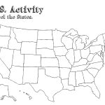 Us Map With Labels Of States Us Map Without Labels New Free Blank – Free Printable Outline Map Of United States