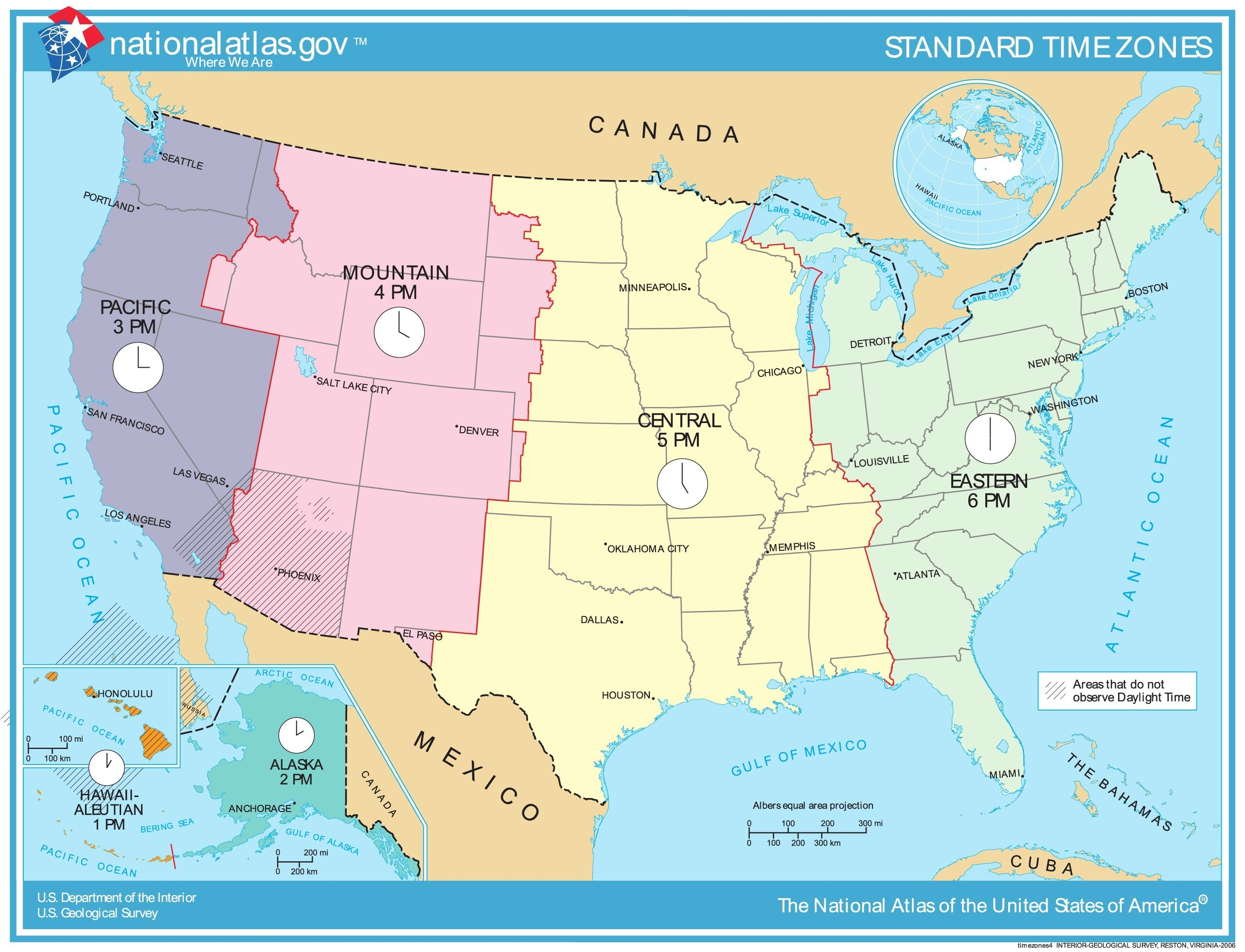 Us Time Zones Mapstates Us Map States Time Zones Timezonemap - Free Printable Us Timezone Map With State Names
