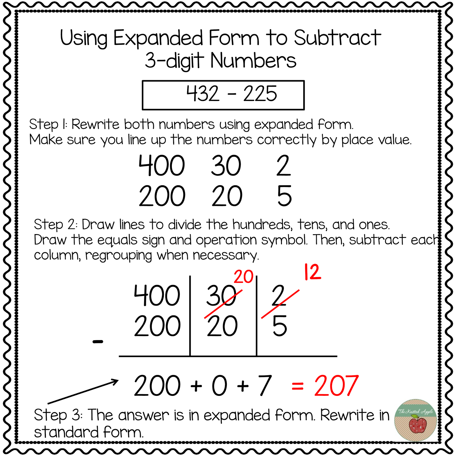 Using Expanded Notation To Regroup   Math   Pinterest   Math - Free Printable Expanded Notation Worksheets