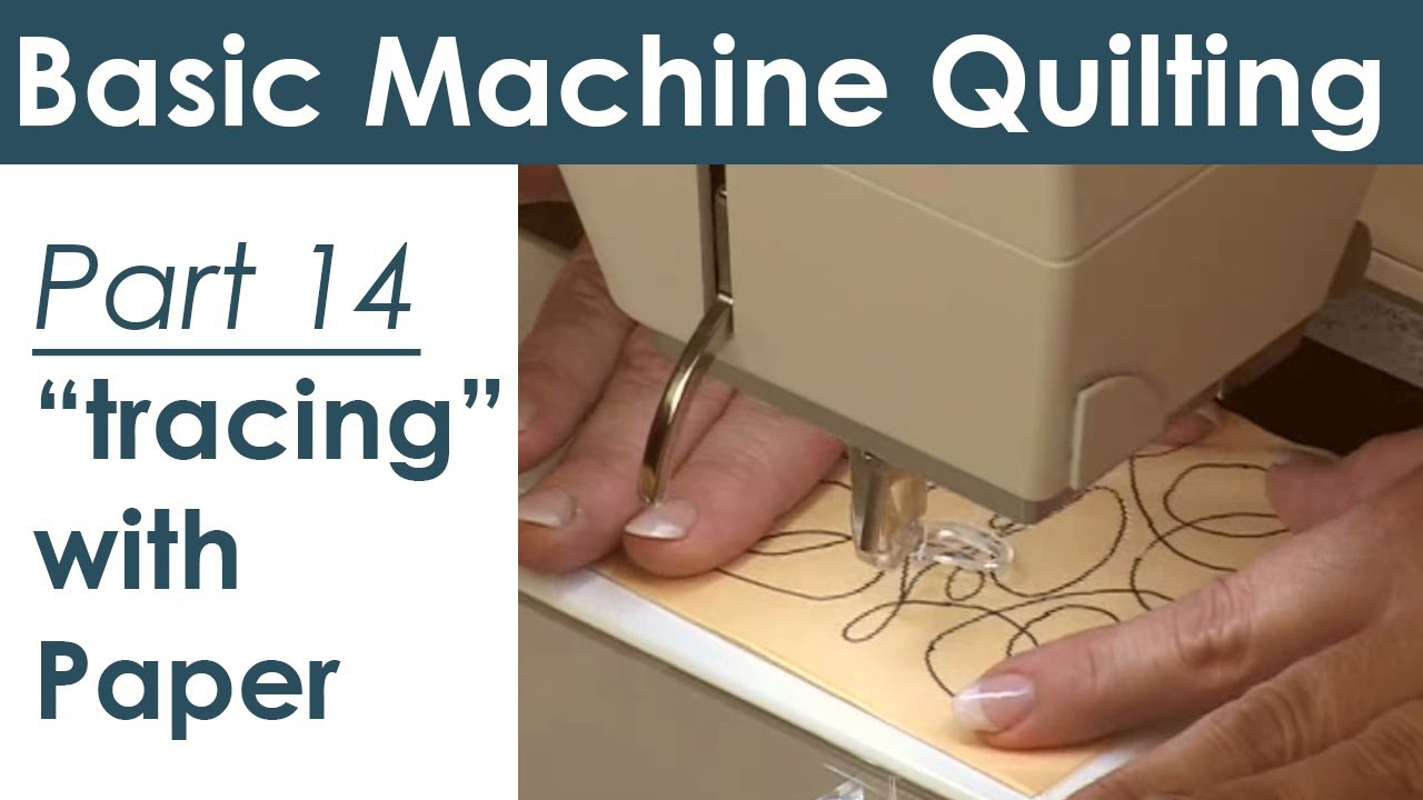 Using Paper Templates For Machine Quilting - Youtube - Printable Free Motion Quilting Templates