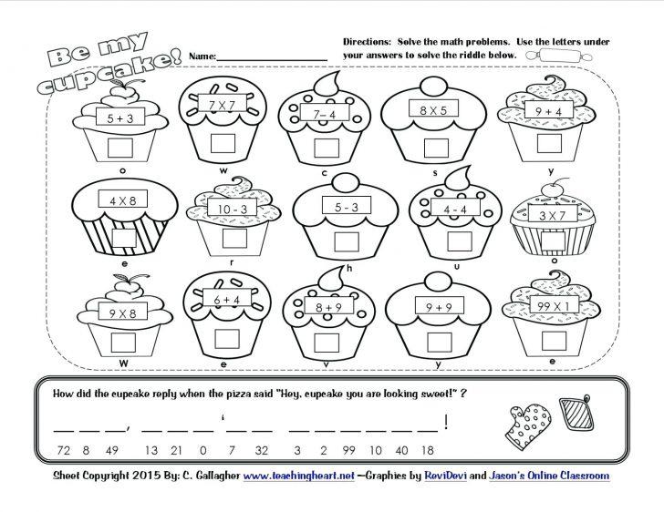 Free Printable Valentine Math Worksheets