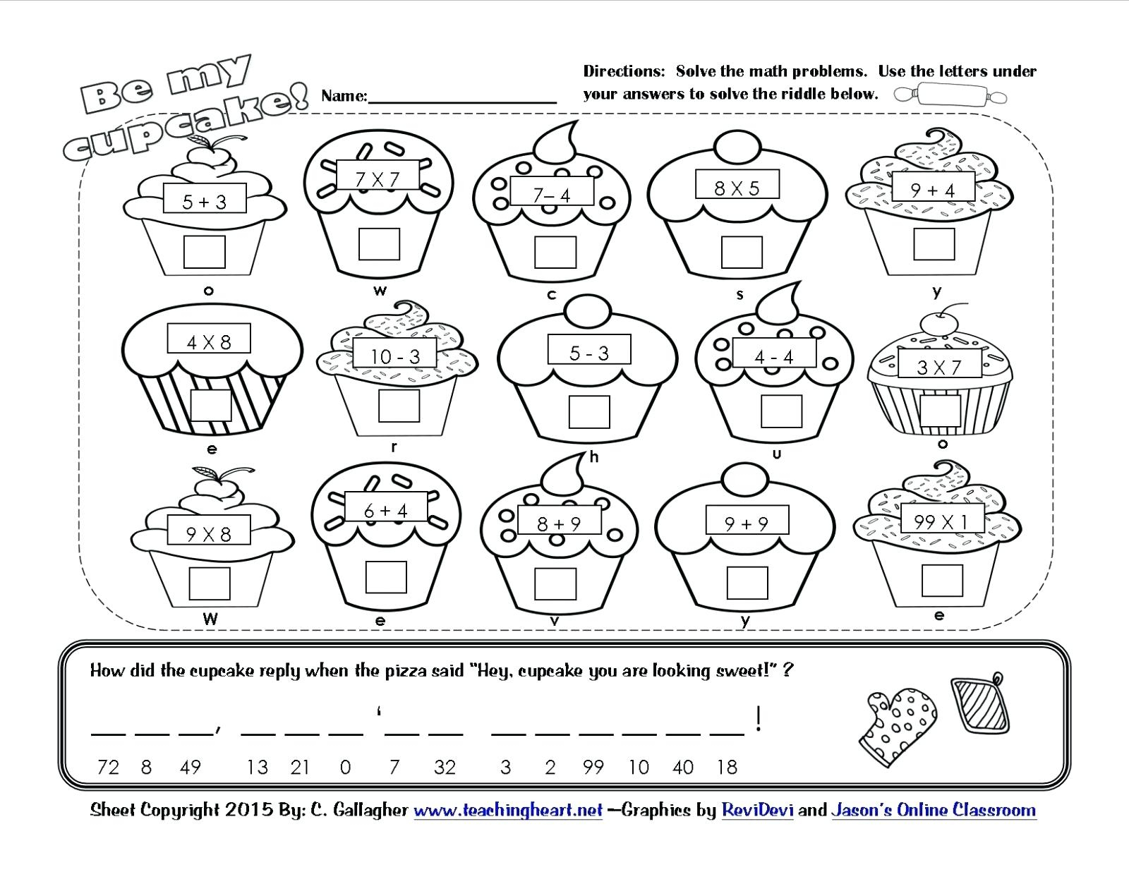 Valentine Kindergarten Worksheets – Thenineties.club - Free Printable Valentine Math Worksheets