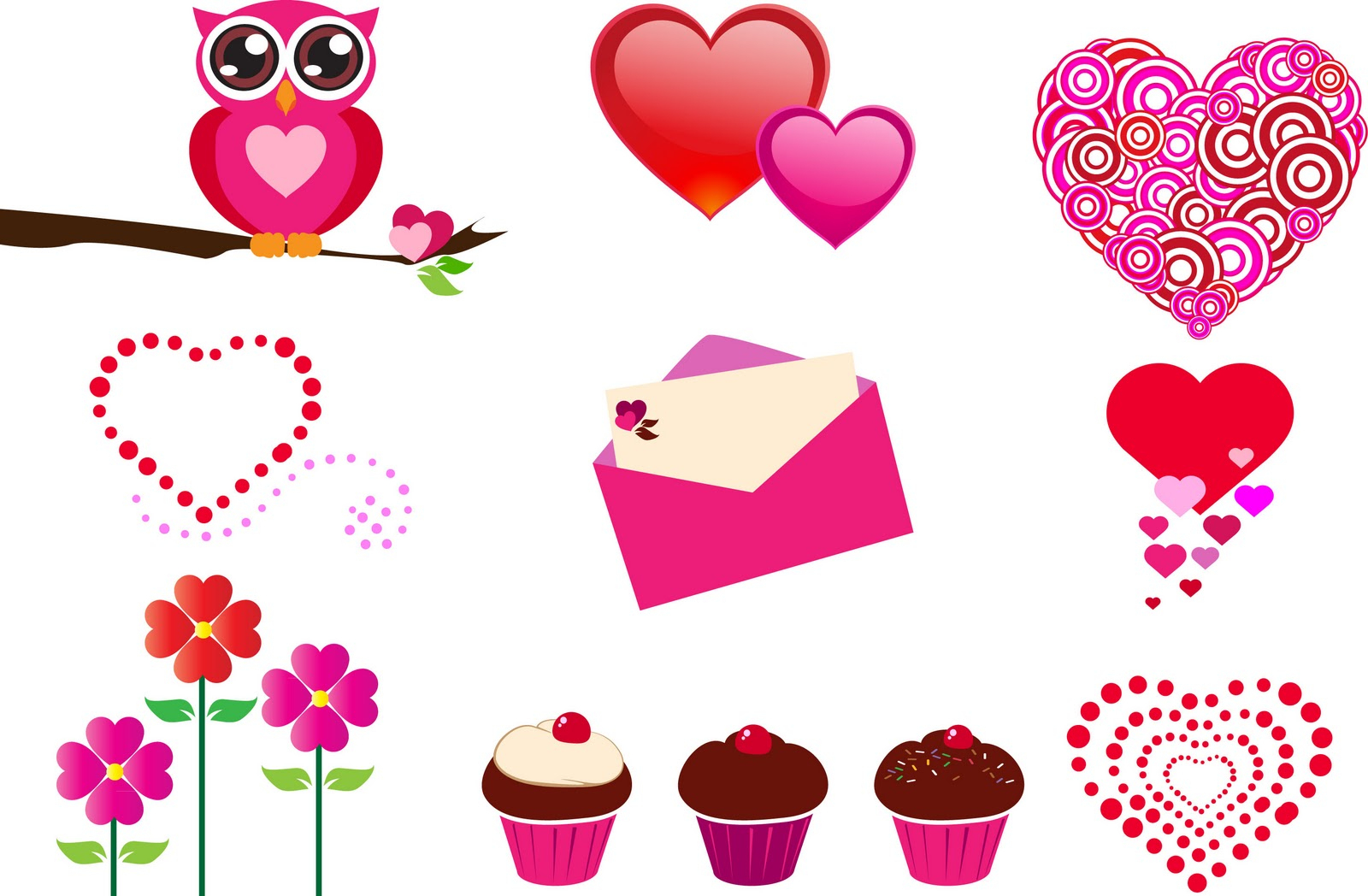 Valentines Vector Freeuse Printable Free - Rr Collections - Free Printable Valentine Graphics