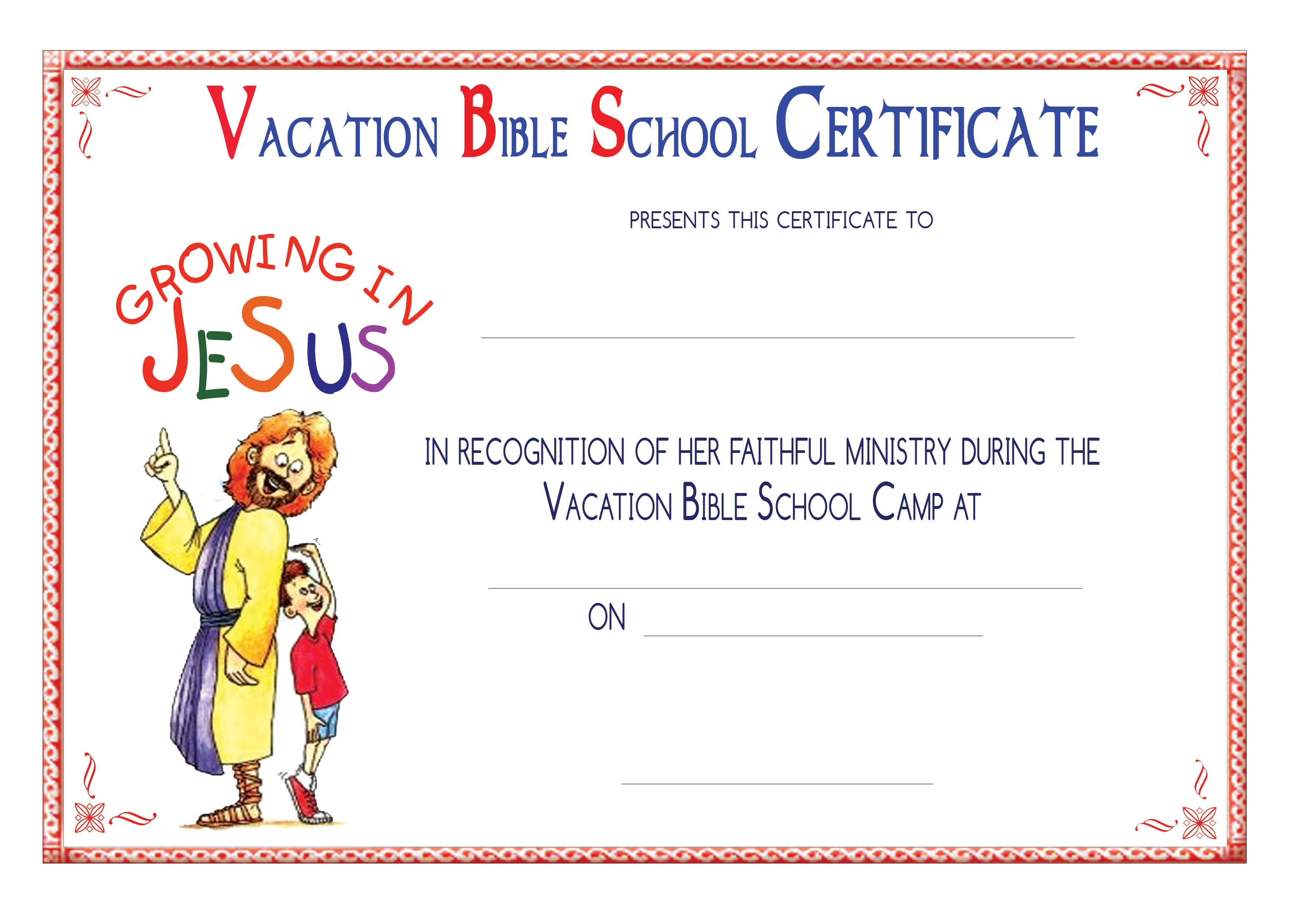 Vbs Certificate Templatesencephalos | Encephalos | Church - Free Printable Vacation Bible School Materials