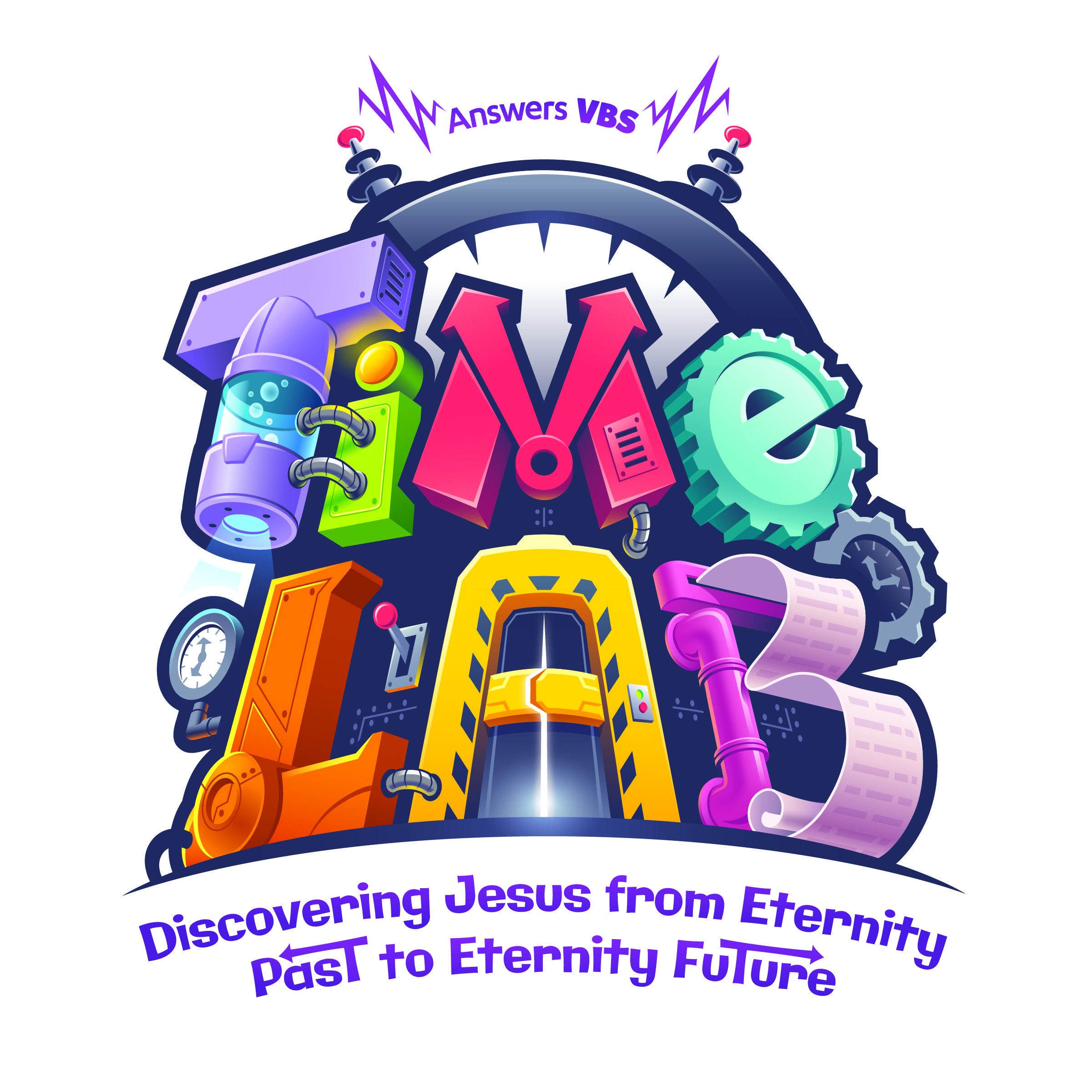 Vbs > Vbs 2018 Themes > Time Lab Vbs 2018 > Time Lab Free Resources - Free Printable Vacation Bible School Materials