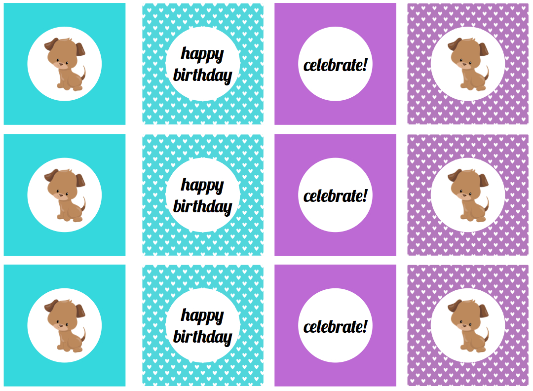 We Heart Parties: Free Printables Girly Puppy Dog Birthday Party - Free Printable Puppy Dog Birthday Invitations